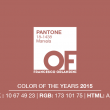 PANTONE 18-1438 Marsala – Color of the Years 2015