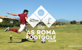 Logo Design | As Roma FootGolf Club
