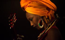 Fatoumata Diawara Live @Monk Roma
