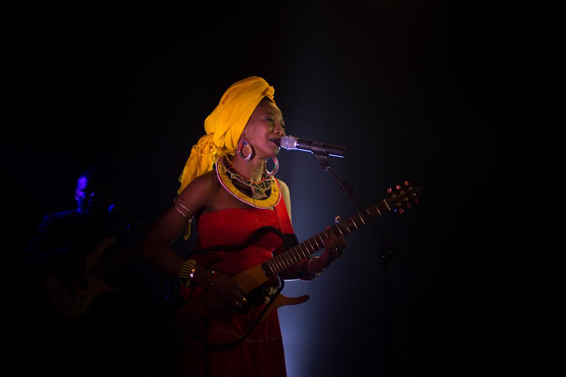 Fatoumata Diawara Live in Rome 2016